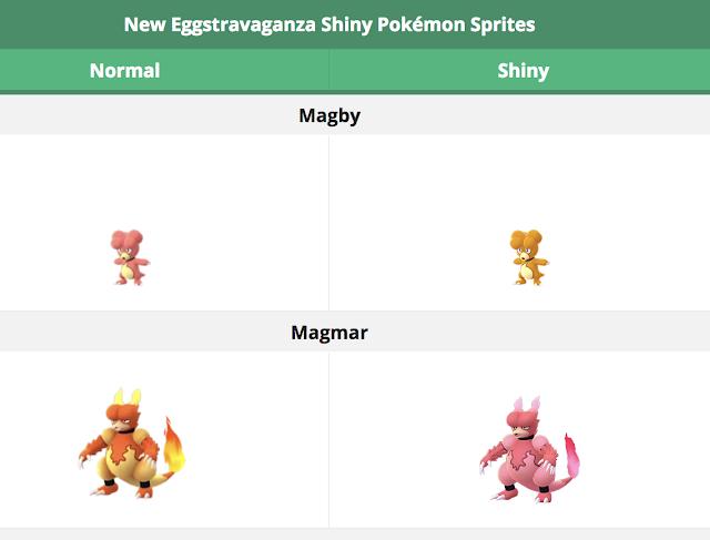 Pokémon GO lanza Eggstravangaza 2018 con nuevos shiny y más posibilidad de obtenerlos