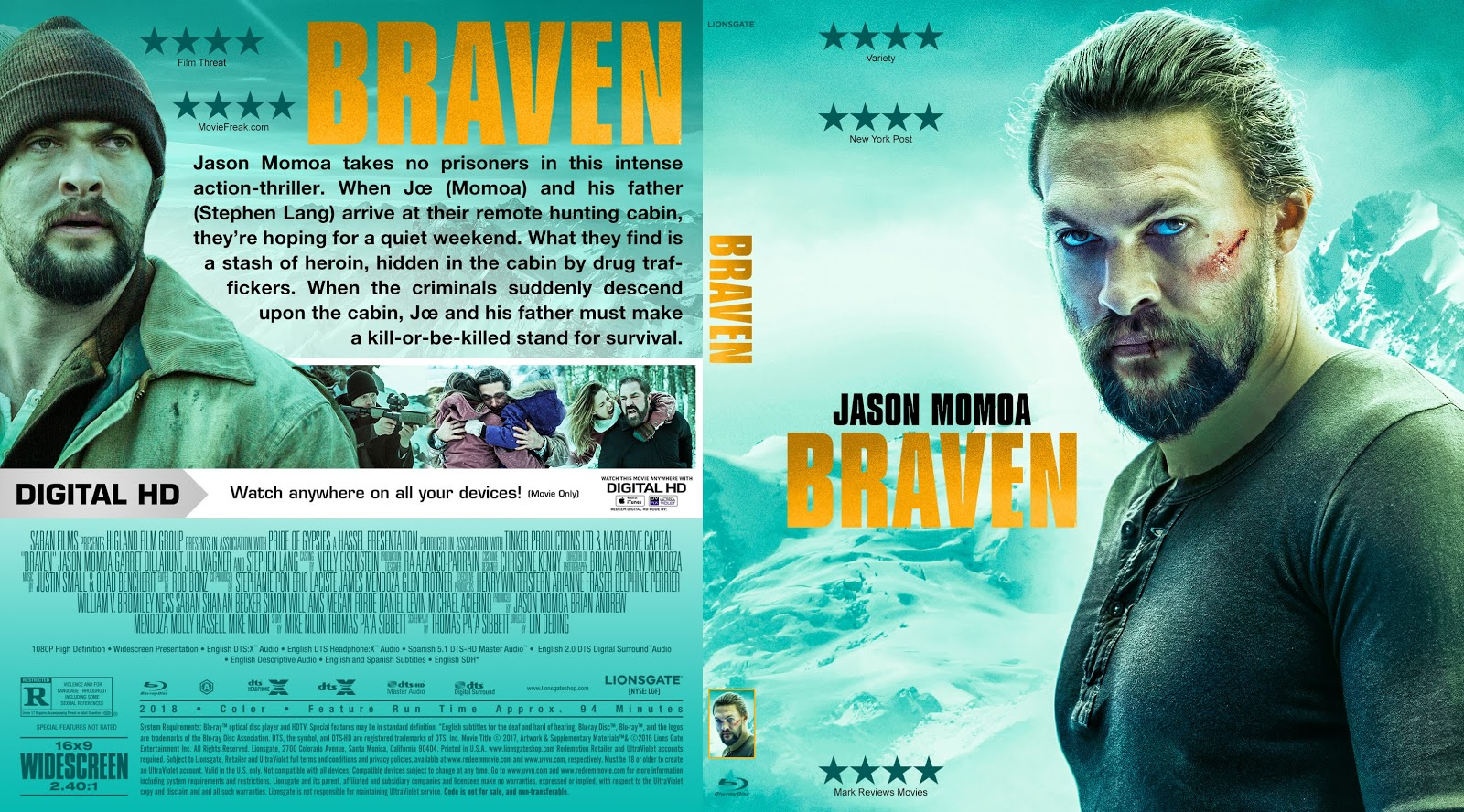 Braven Bluray Cover | Cover Addict - Free DVD, Bluray Covers