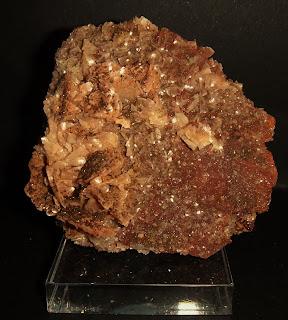 Ankerita, pirita, Mina Josefa, Kobaron, Bizkaia, Euskadi, pieza de 8 cm
