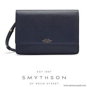 Kate Middleton carried Smythson Panama Clutch