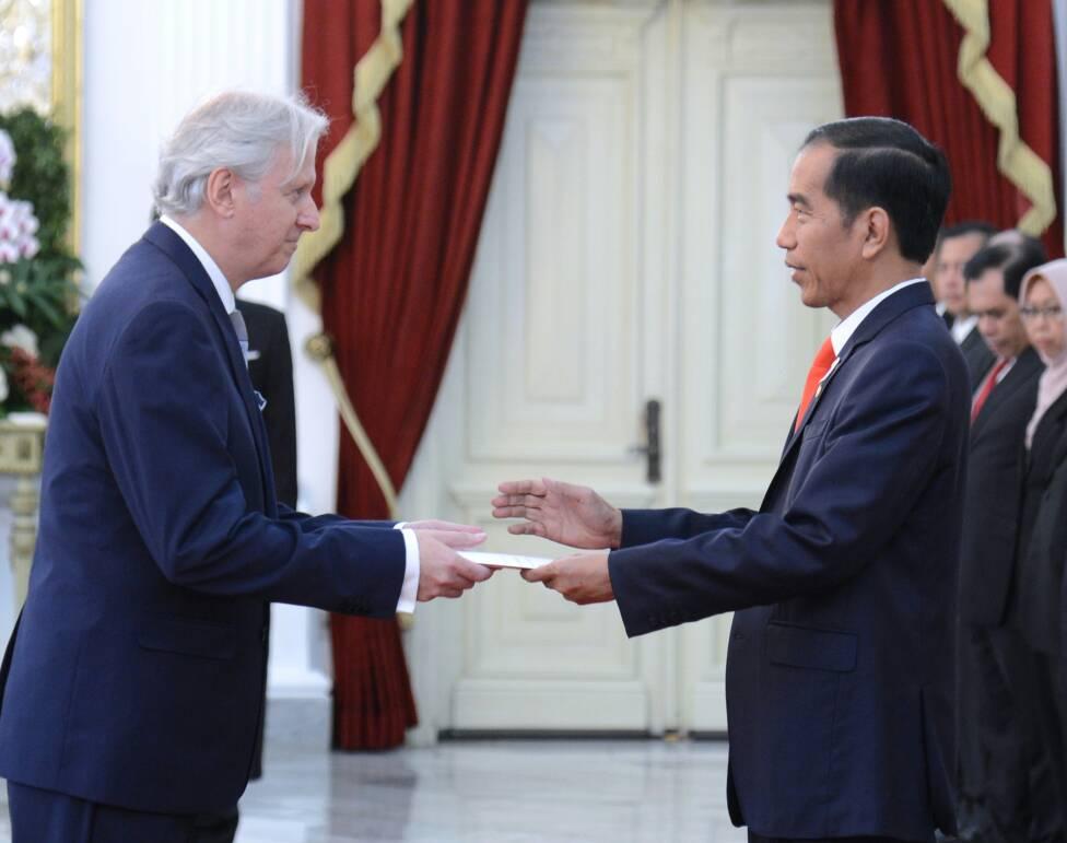 Foto: Presiden Jokowi Terima 5 Duta Besar Baru Negara