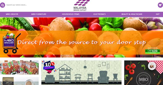 Shopping Barangan Basah Secara Online  Di Malaysia Brand Outlet ( MBO)
