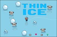 Here is Thin Ice, an #Arcade #Platformer by #Nitrome! #WinterGames #WinterFlashGames