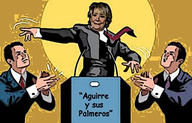 el villano arrinconado, humor, chistes, reir, satira, Esperanza Aguirre