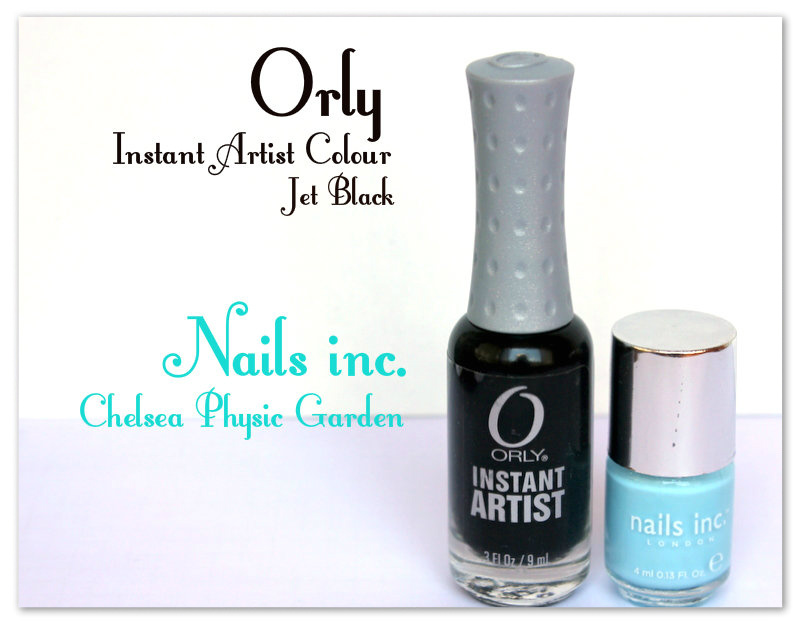 Nails inc., Chelsea Physic Garden and   Orly Instant Artist Colour