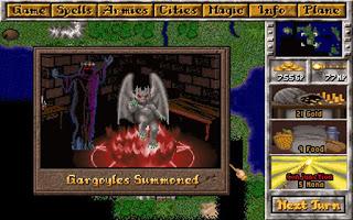 Pantallazo videojuego Master of Magic