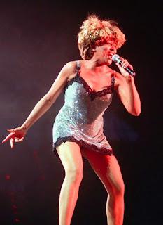 Tina Turner en un concierto en Munich (Alemania) (1996)