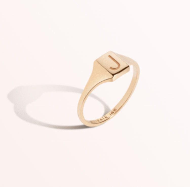 aurate signet ring