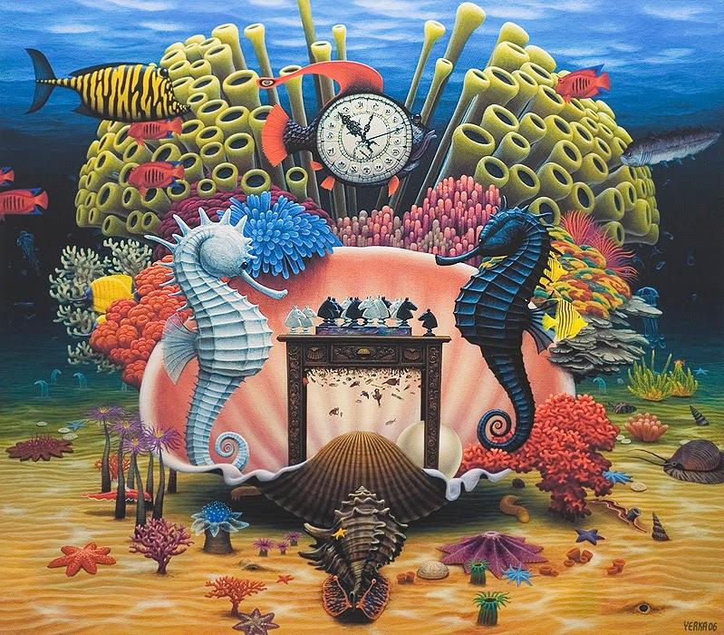 Xadrez no Recife - Jacek Yerka e seu surrealismo fantástico ~ Polonês