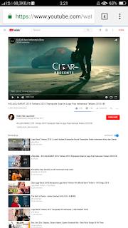 Cara Memutar Lagu Youtube Pada Background di Andorid Sambil Membuka Aplikasi Lain