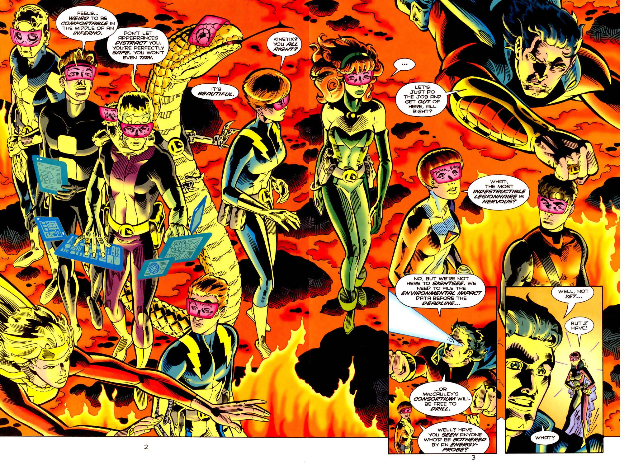 Legion of Super-Heroes (1989) 113 Page 2