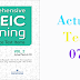 Listening Comprehensive TOEIC Training - Actual Test 07