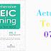 Listening Comprehensive TOEIC Training - Actual Test 07