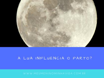 A lua influencia o parto?