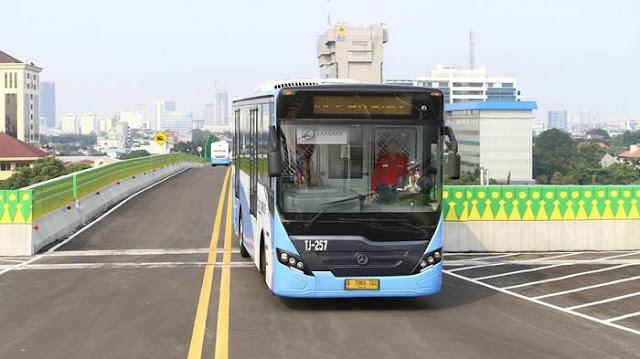 Ini Rentetan Kegilaan Sentot Saat Mencuri Bus Transjakarta