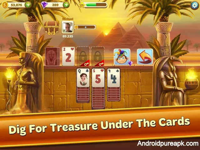 Solitaire Treasure Hunt Mod Apk