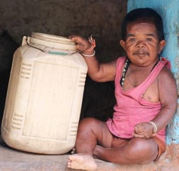 GOD WONDER!! Meet Basori, 50 Year Old Indian Man Who Looks