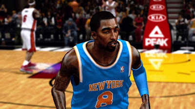 NBA 2K13 JR Smith Face Mods
