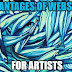 Advantages of Websites for Artists