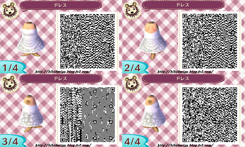 Wedding Dress QR CodeQr Codes Animal Crossing New Leaf Dresses