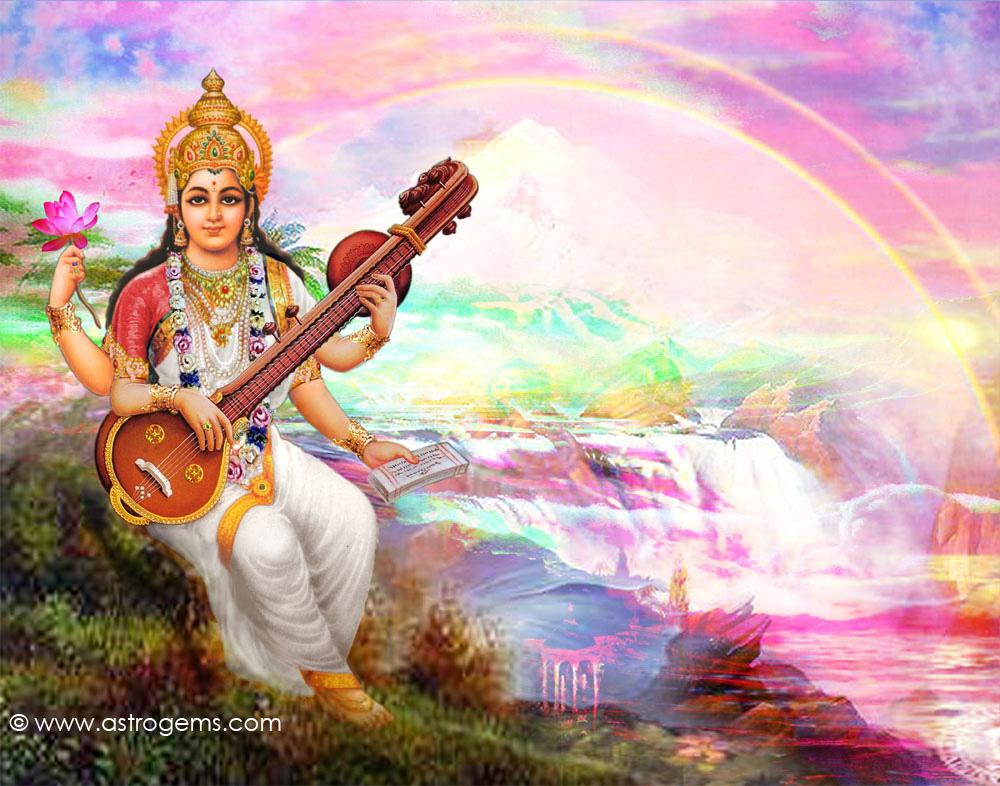 521 Entertainment World: Goddes Saraswati Wallpapers