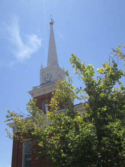 Historic St. George tabernacle from the side