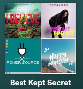 Best Kept Secret Playlist
