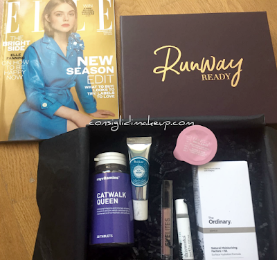 look fantastic beauty box febbraio 2017 runway ready