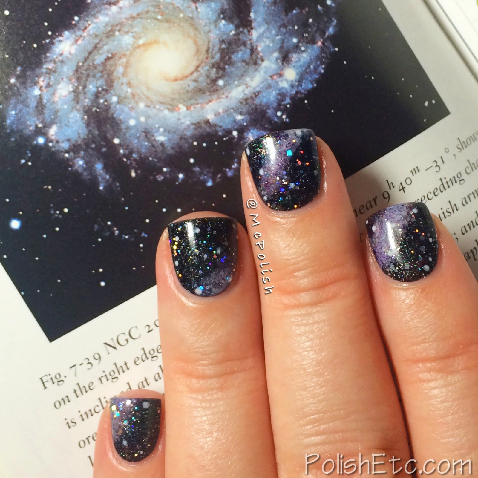 31 Day Nail Art Challenge - #31dc2014 - McPolish - GALAXy