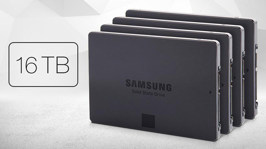 Jual SSD 16 TB, Samsung Siap Bersaing