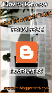 Best way to remove blogger footer Link