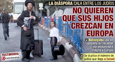 Judíos franceses con hijos buscan refugio en Israel y crece la preocupación