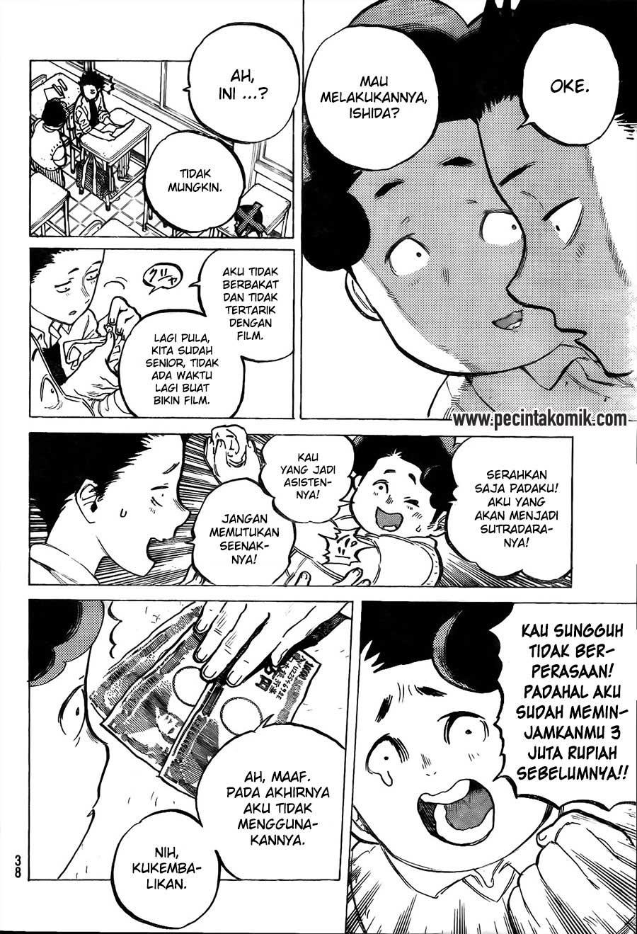Koe no Katachi Chapter 17-3