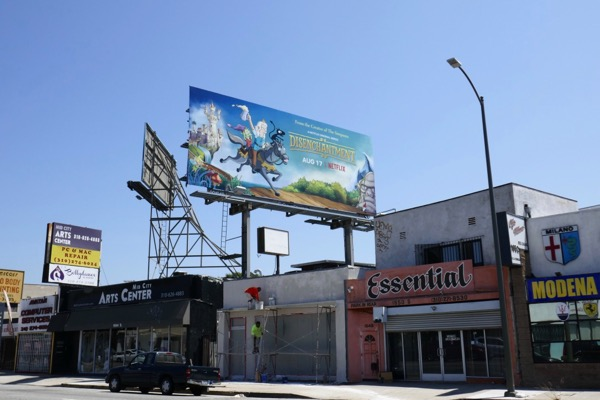Disenchantment season 1 billboard