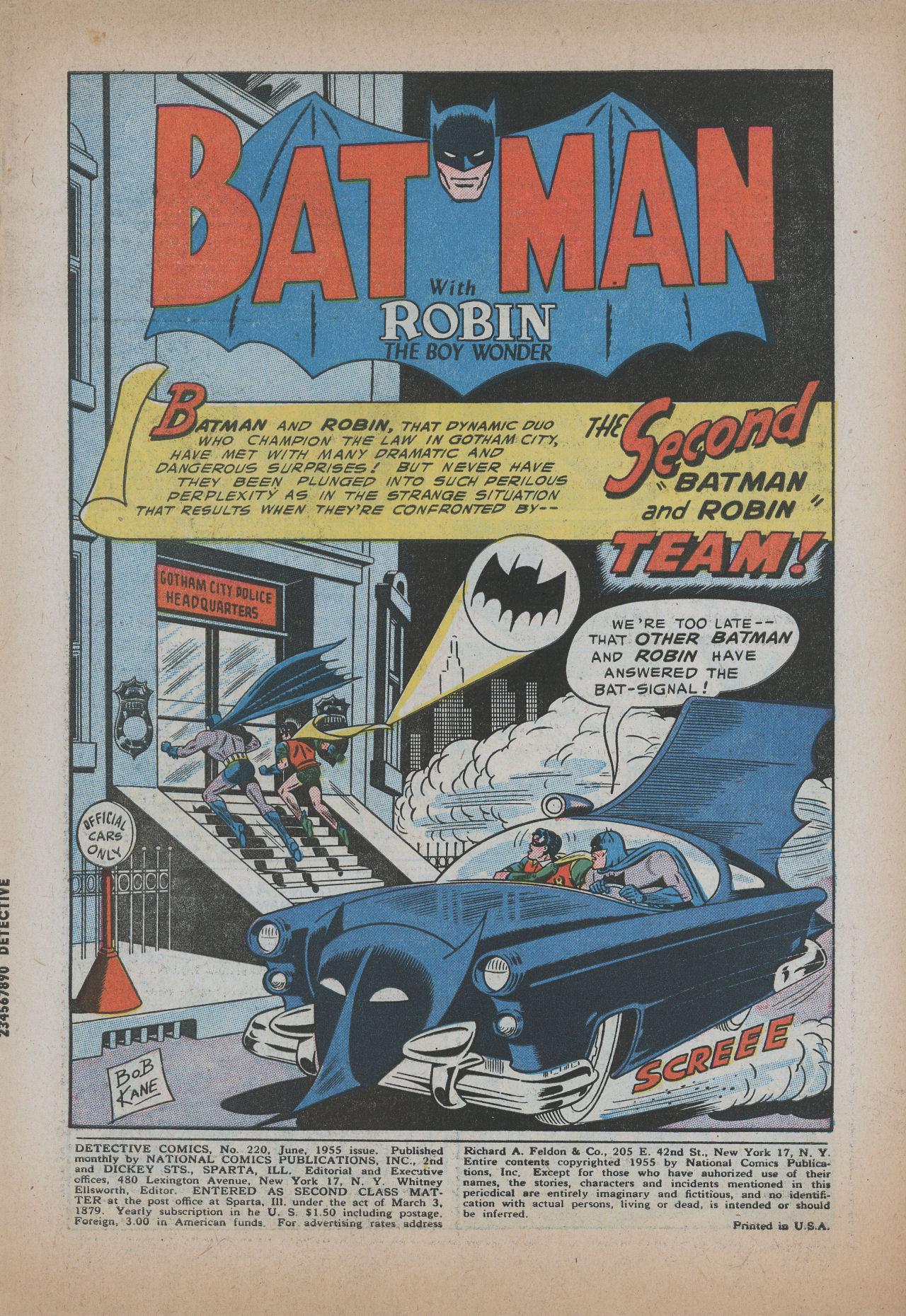 Detective Comics (1937) 220 Page 2