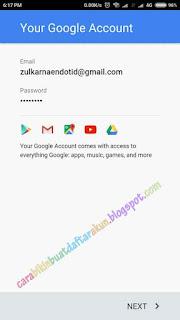 cara membuat akun google play store