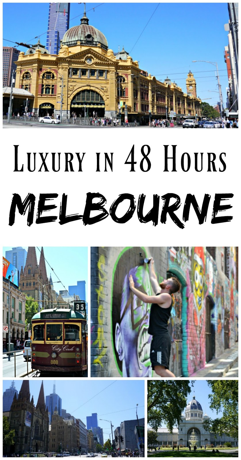 PIN FOR LATER: 48 Hours in Melbourne, Australia! How to spent a luxury 48 hours in Melbourne, including the best places to eat and see.