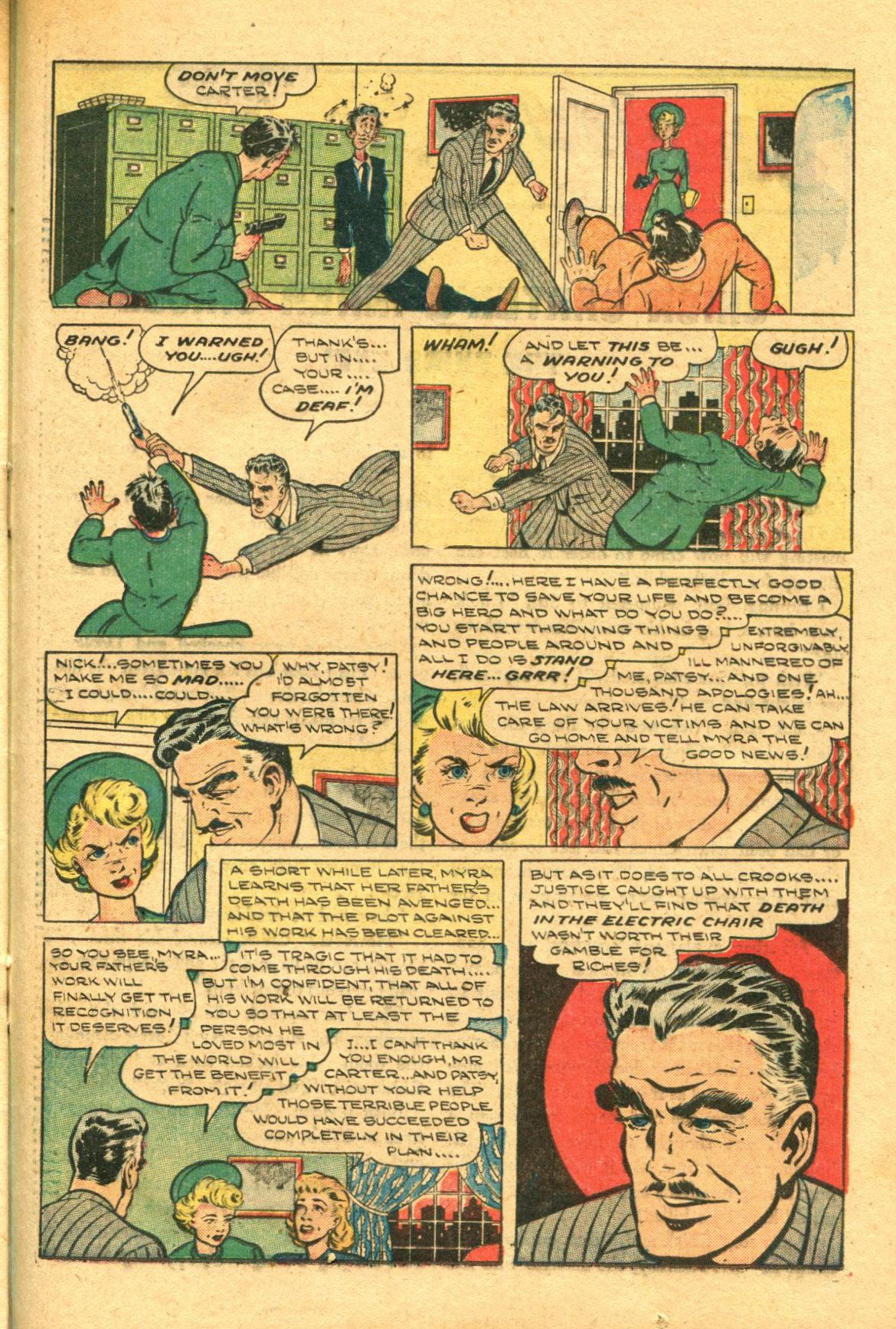 Read online Shadow Comics comic -  Issue #98 - 37