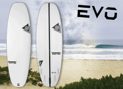Surfboard Nieuwe Shapes en Design Tail Nose