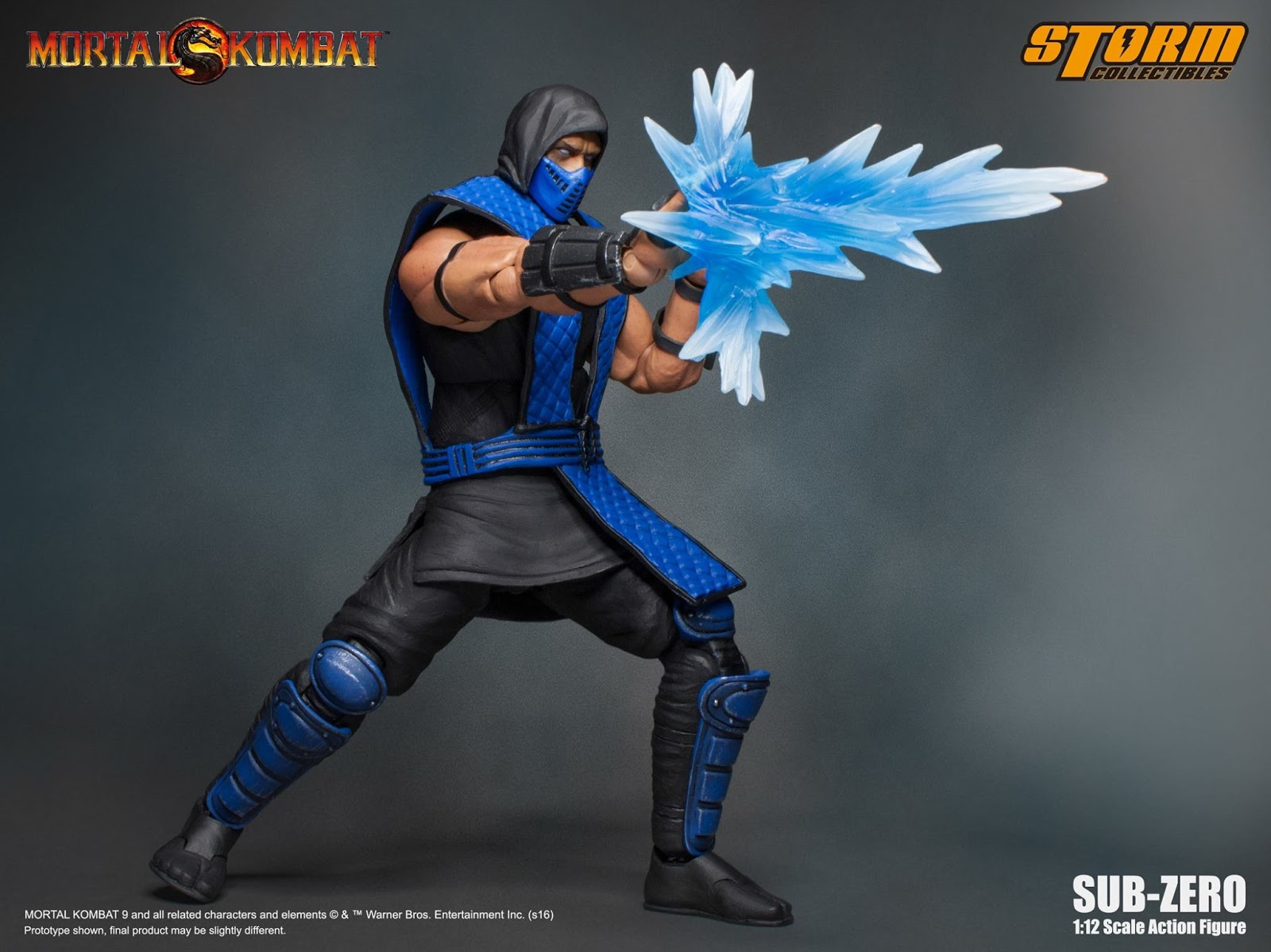 infinite earths storm collectibles reveals mortal kombat sub zero. Black Bedroom Furniture Sets. Home Design Ideas
