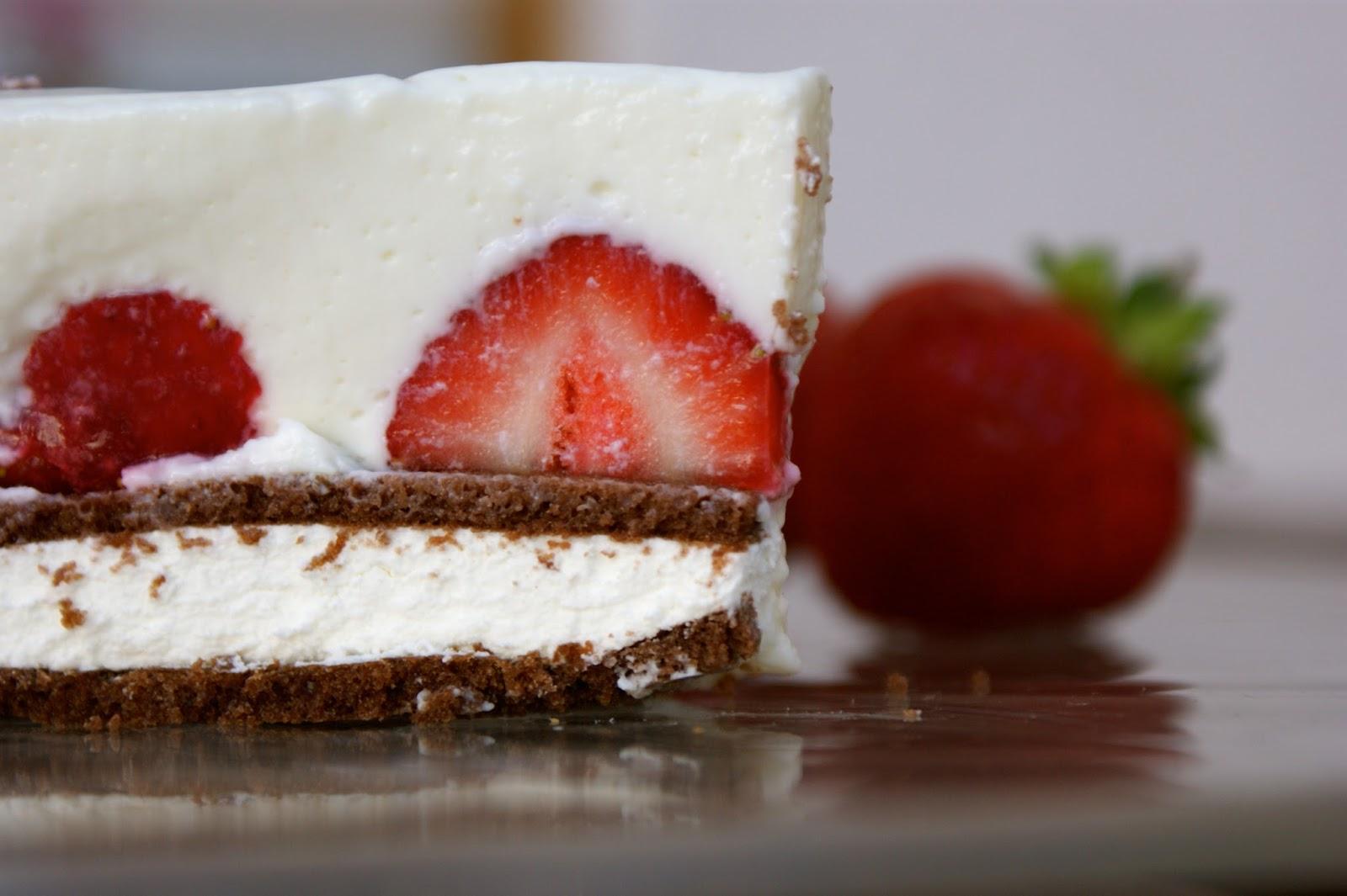 Das süsse Leben Milchschnitten Kühlschrank Kuchen
