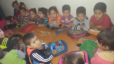 شباب إمسوان : تجهيز  رياض الأطفال 2015