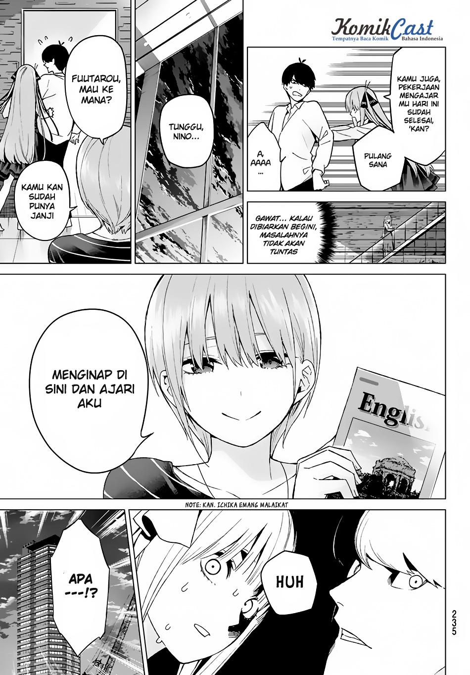 Manga Go-Toubun No Hanayome Chapter 16