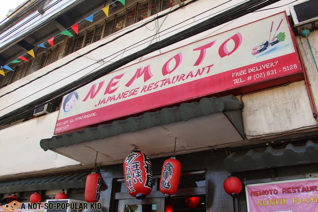 Nemoto, the longest-running Japanese Restaurant in Buendia-Pasay