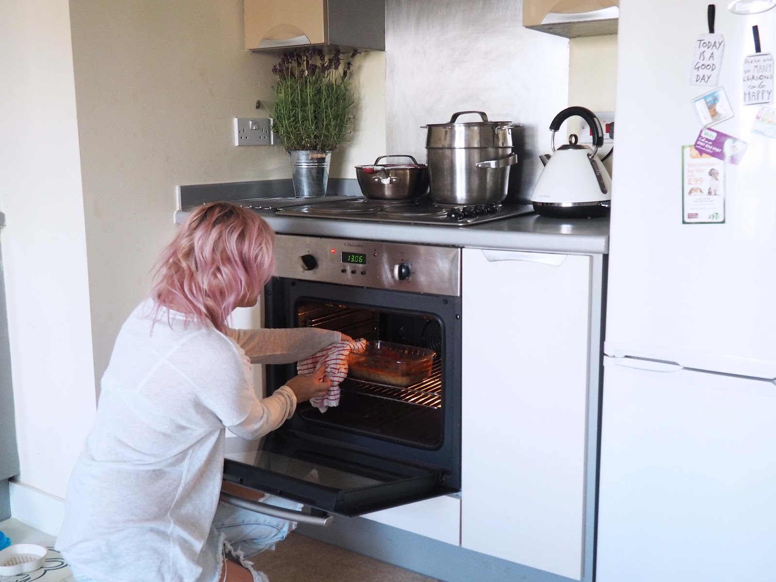 cooking in ikea container