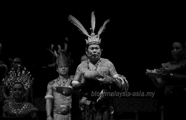 Miring Ceremony Sarawak