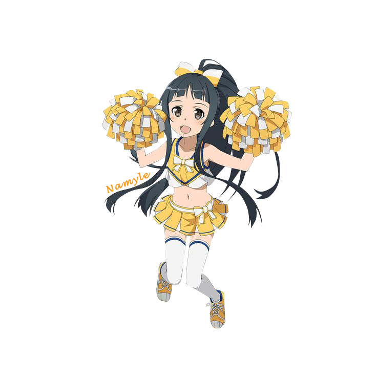 render yui cheerleader