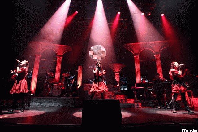 Kalafina Red Moon concert