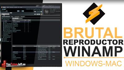 Como Descargar Winamp Ultima Versión Español - Brutal Reproductor
