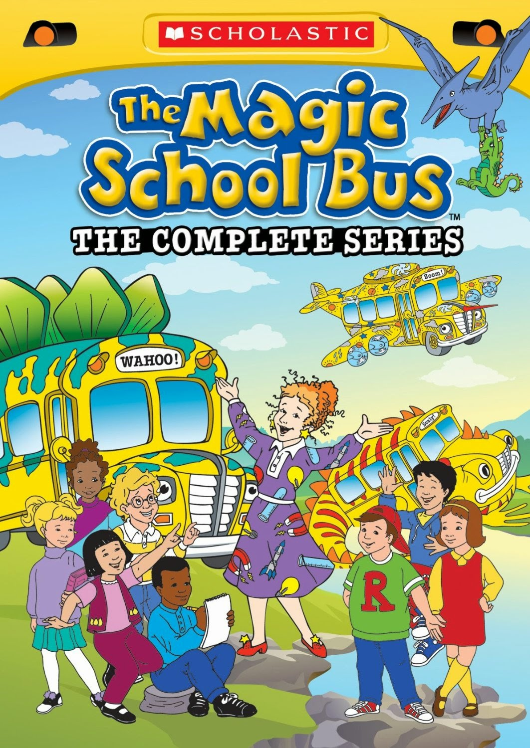 The Magic School Bus DVD series, used as part of ocean theme week preschool